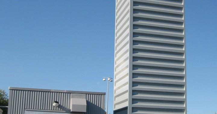 Göteborg Energi. Hollensen pelletspanna levererad i container. 1,5 MW pellets