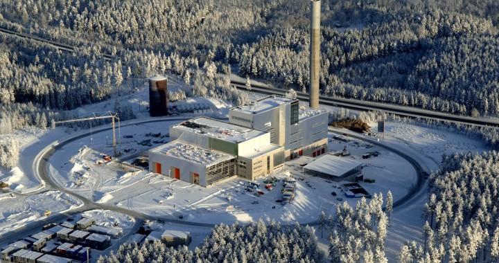 Jönköping Energi, Torsvik. LOOS hetvattenpanna med SAACKE brännare. 14 MW olja