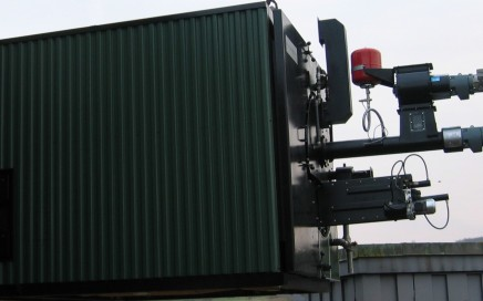 Ängelholm Energi AB. Hollensen pelletspanna med tillbehör. 750 kW pellets.