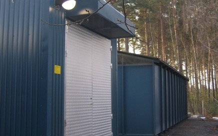 Jönköping Energi AB. Transportabel central 7 MW olja