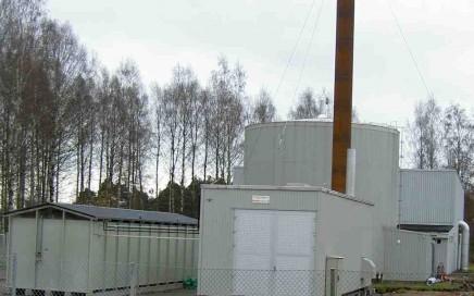 Karlstad Energi AB. Transportabel central 10 MW olja